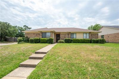 Mesquite Single Family Home Active Option Contract: 1008 Hunters Glen Drive
