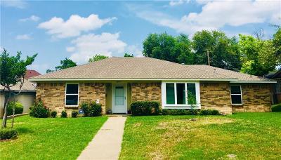 Farmers Branch Single Family Home For Sale: 2837 Selma Lane
