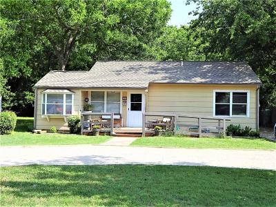 Denton Single Family Home Active Option Contract: 1814 Scripture Street