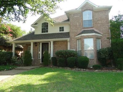 Irving Single Family Home For Sale: 10508 Waters Drive