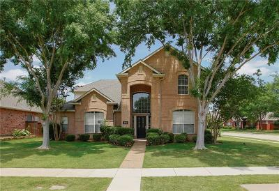 Coppell Single Family Home Active Option Contract: 270 Lyndsie Drive