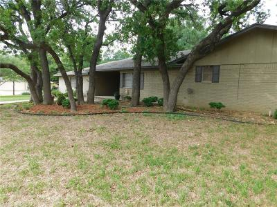 Brownwood Single Family Home For Sale: 1705 14th