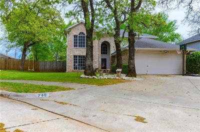 Lake Dallas Single Family Home For Sale: 748 Cedar Leaf Circle