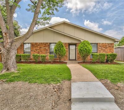 Rowlett Single Family Home Active Option Contract: 8814 Miami Drive