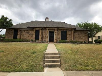 Mesquite Single Family Home For Sale: 816 Courtland Drive