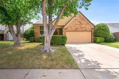Tarrant County Single Family Home For Sale: 6816 Quail Meadow Drive