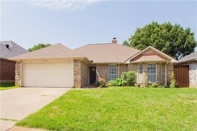 Euless Single Family Home Active Option Contract: 401 Lexington Lane