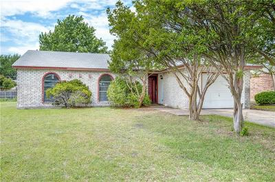 Allen Single Family Home For Sale: 1010 Bell Drive