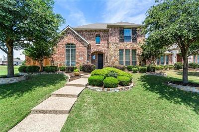 Plano TX Single Family Home Active Option Contract: $439,900