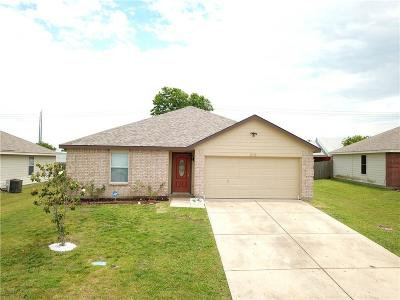 Terrell Single Family Home Active Contingent: 210 Meadowcrest Drive