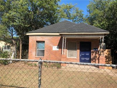 Fort Worth Single Family Home For Sale: 2805 Walker Street