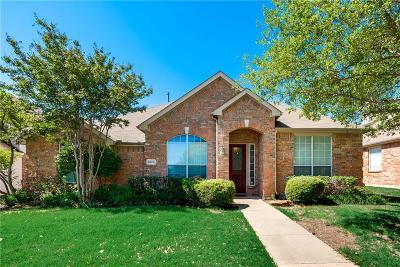Plano TX Single Family Home Active Option Contract: $344,900