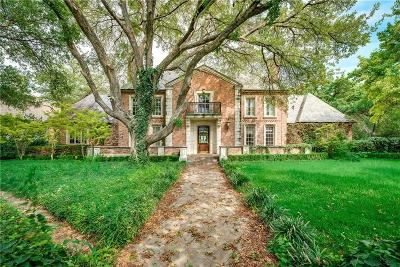 Preston Hollow, Preston Hollow Rev Single Family Home Active Option Contract: 9410 Alva Court