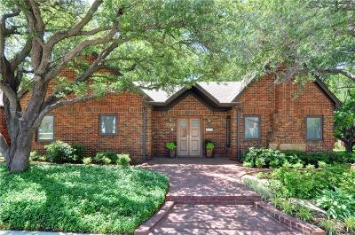 Fort Worth Single Family Home For Sale: 3863 Crestline Road