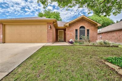 Mansfield Single Family Home Active Option Contract: 3003 Rustic Meadow Trail