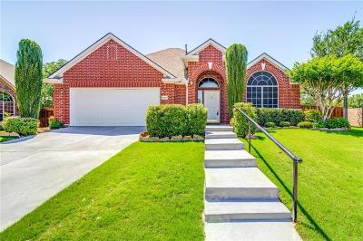 Flower Mound Single Family Home Active Option Contract: 5917 Northcrest Drive