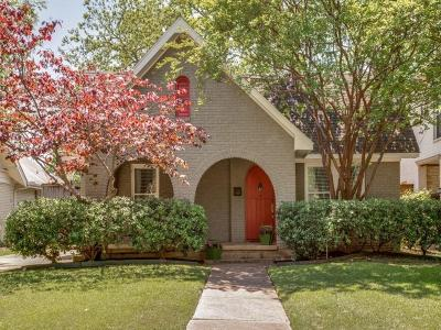 Single Family Home For Sale: 5126 Vickery Boulevard