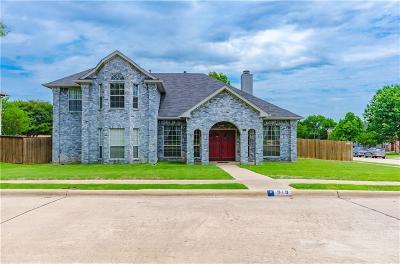 Allen Single Family Home Active Contingent: 919 Blackstone Drive