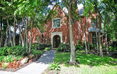 Coppell Single Family Home For Sale: 717 Armstrong Boulevard