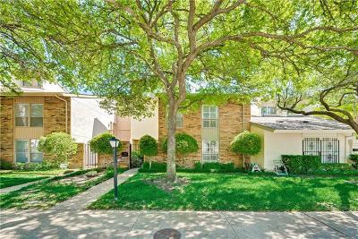 Dallas Townhouse For Sale: 9204 Firelog Lane