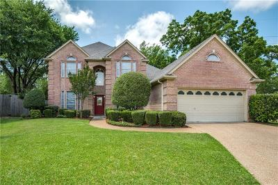 Bedford Single Family Home Active Option Contract: 2700 Holly Brook Court