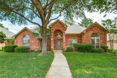 Coppell Single Family Home Active Option Contract: 238 Suzanne Way