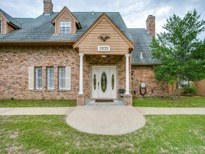 Burleson Single Family Home Active Option Contract: 2532 Mockingbird Road
