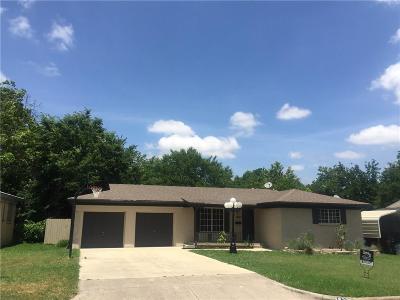 North Richland Hills Single Family Home Active Option Contract: 5829 Circular Drive