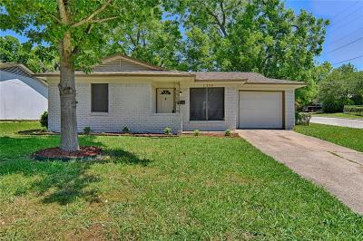 Mesquite Single Family Home For Sale: 1304 Barbara Street