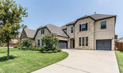 Allen Single Family Home Active Option Contract: 1610 Singing Water Drive