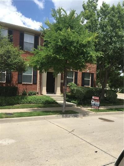 McKinney Townhouse For Sale: 4800 Stone Gate Trail