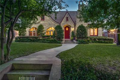 Dallas Single Family Home For Sale: 5338 Merrimac Avenue