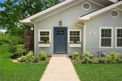Dallas, Fort Worth Single Family Home For Sale: 720 Elsbeth Street