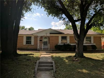 Mesquite Single Family Home Active Option Contract: 2427 Greenhill Drive