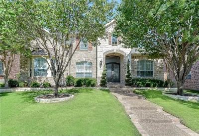 Plano TX Single Family Home Active Option Contract: $549,000