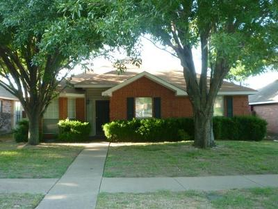 Cedar Hill Single Family Home Active Option Contract: 1118 Witherspoon Road