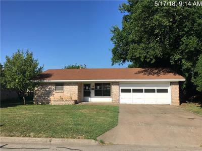 Granbury Single Family Home For Sale: 312 Ables Street