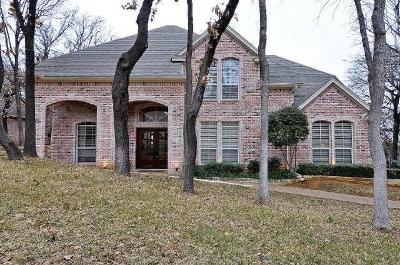 Grapevine Single Family Home Active Option Contract: 3116 Joyce Way