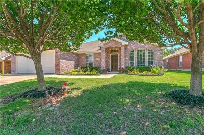 Azle Single Family Home Active Option Contract: 504 Dominick Court