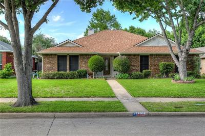 Garland Single Family Home Active Option Contract: 4837 Crestpoint Lane