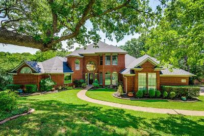 Flower Mound Single Family Home Active Option Contract: 3720 Hidden Trail