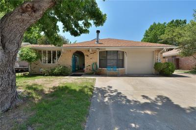 Euless Single Family Home Active Option Contract: 601 Parker Drive