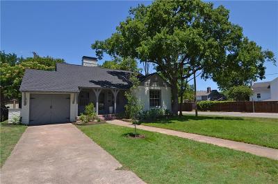Dallas Single Family Home For Sale: 801 Thomasson Drive