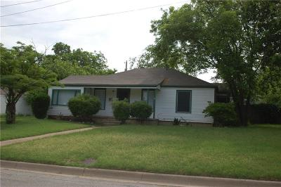 Fort Worth Single Family Home For Sale: 2809 Westridge Avenue