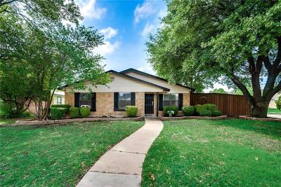 Plano TX Single Family Home Active Option Contract: $265,000