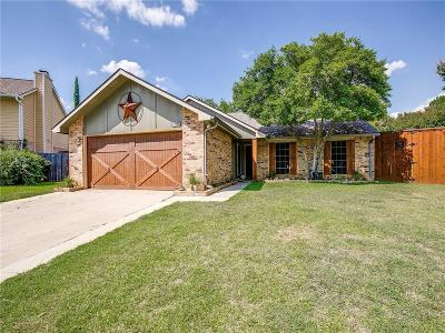 Euless Single Family Home Active Option Contract: 2612 Kayli Lane