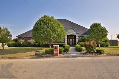 Abilene Single Family Home For Sale: 2010 Westminster Drive