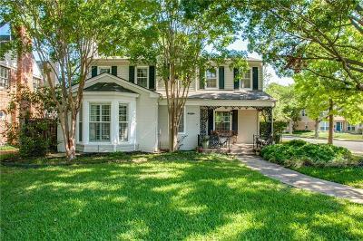 Dallas Single Family Home For Sale: 6129 McCommas Boulevard