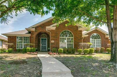 Allen TX Single Family Home For Sale: $265,000