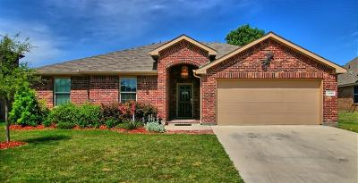 Azle Single Family Home Active Option Contract: 1105 Ashton Drive